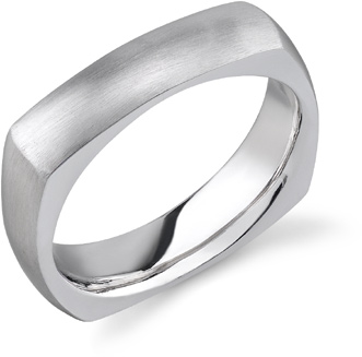 Square Wedding Bands